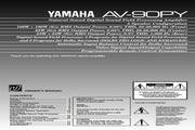 雅马哈AV-90PY声乐处理器说明书