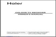 海尔21F9K彩色电视用户手册