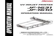 Mimaki JF-1610打印机说明书