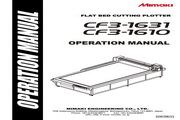 Mimaki CF3-1610打印机说明书
