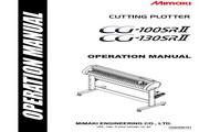Mimaki CG-130SRII打印机说明书