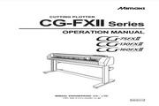 Mimaki CG-75FXⅡ打印机说明书