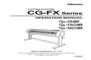 Mimaki CG-160FX打印机说明书