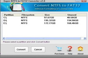NTFS to FAT32 C...