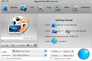 Bigasoft AVI to MP4 Converter for Mac 3.7.50.5067