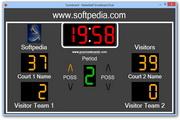 Basketball Scoreboard Dual