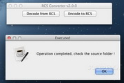 RCS Converter 4.0.0 For Mac