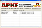 APKF Product Key Finder 2.4.2.0