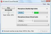 AV Audio & Sound Recorder 2.0.2