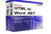 Elerium HTML to Word .NET 1.4