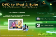 4Videosoft DVD to iPad 2 Suite 5.2.70