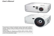 NEC NP400投影机说明书