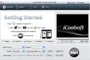 iCoolsoft DVD to iPod Converter for Mac 3.1.20