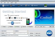 iCoolsoft DVD to iPod Touch Converter 3.1.20
