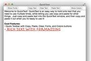 QuickText For Mac 2.0b3