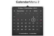 CalendarMenu For Mac