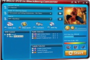 BlazeVideo DVD to BlackBerry Converter 3.0.0.6