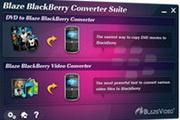 BlazeVideo BlackBerry Converter Suite 4.0.0.2