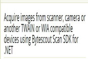 Scan SDK 1.00.8