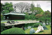 Osho at the garden