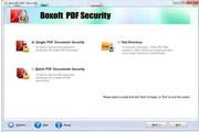 Boxoft PDF Security 3.0