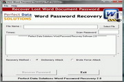 PDS Word Password Recovery 2.0