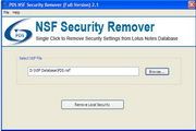 NSF Security Remover tool