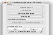 Destructive Edit Launcher for Logic Pro 1.0