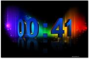 3D Numeric Clock 2.0