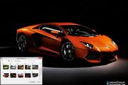 Lamborghini Aventador Windows 7 Theme 1.00