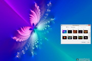 Butterfly Abstract Windows 7 Theme 1.00
