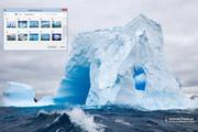 Giant Icebergs Windows 7 Theme 1.00