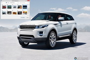 Range Rover Evoque Windows 7 Theme 1.00