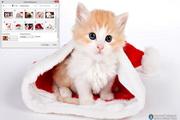 Cute Santa Claus Windows 7 Theme 1.00