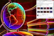 Neon Art Windows 7 Theme 1.00