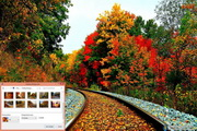 Autumn Tracks Windows 7 Theme 1.00