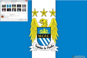 Manchester City Windows 7 Theme 1.00