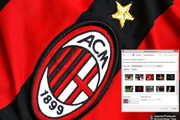 AC Milan Windows 7 Theme 1.00