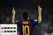 Lionel Messi Windows 7 Theme