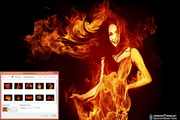 Fiery Art Windows 7 Theme