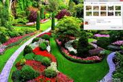 Spring Gardens Windows 7 Theme 1.00