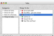 ToDo X For Mac