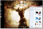 God Of War Windows Theme