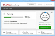 Avira Secure Backup 1.0.1 Build 3632