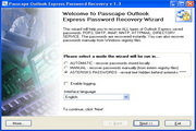 Passcape Outlook Express Password Recovery 1.12