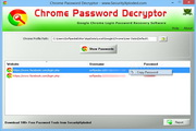 Chrome Password Decryptor 7.0