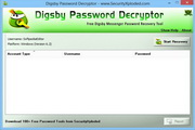 Digsby Password Decryptor