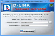 DLink Password Decryptor 2.0
