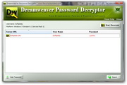 Dreamweaver Password Decryptor 3.0