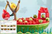 Fruit Carving Windows 7 Theme 1.00